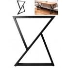 """Опора металлическая для столов """"Марокко"""" в стиле Loft"""