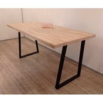 """Письменный деревянный стол с металлическими ножками """"Берлин"""" в стиле Loft"""